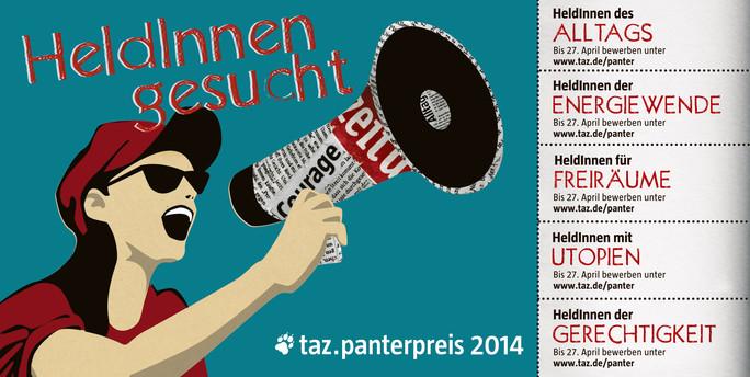 taz Panter Preis 2014