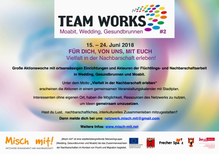Team Works 2018