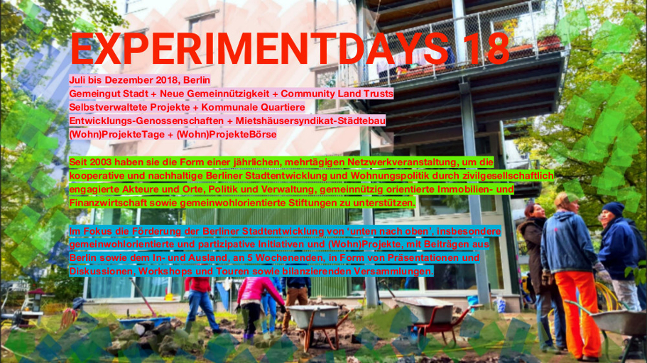 EXPERIMENTDAYS 18 - 1