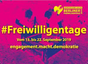 Berliner Freiwilligentag 2019